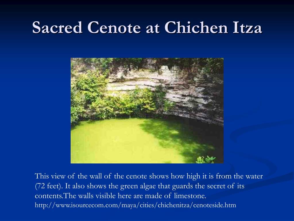 Sacred Cenote at Chichen Itza