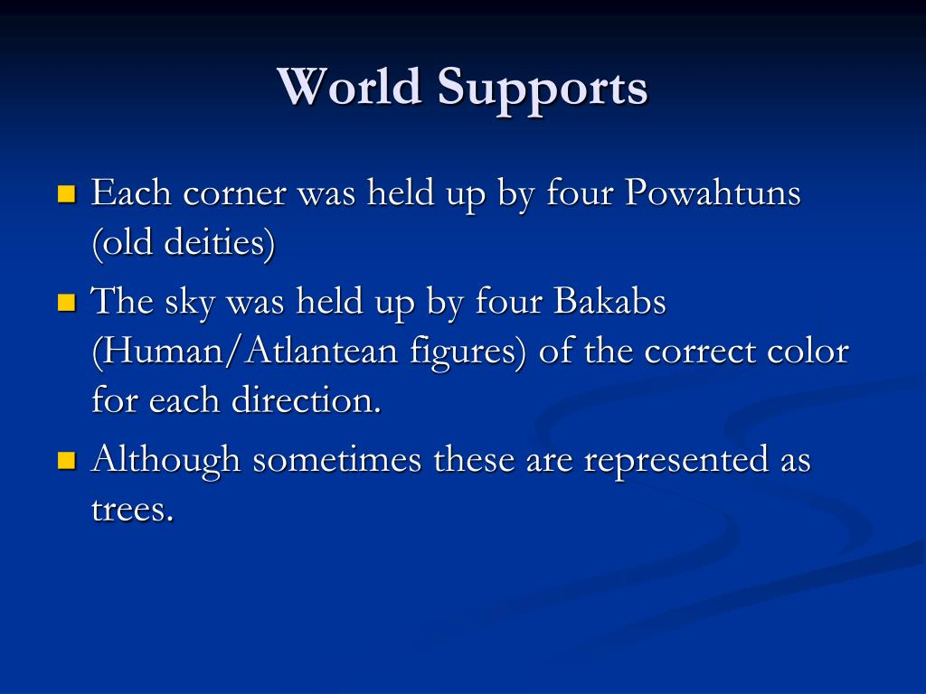 World Supports