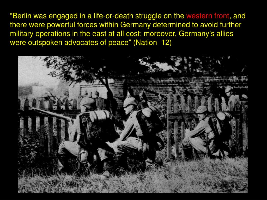 """""""Berlin was engaged in a life-or-death struggle on the"""