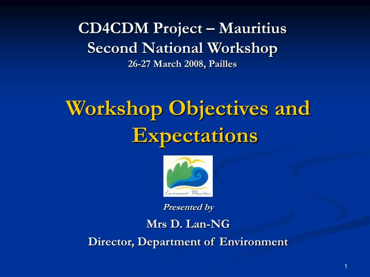 Cd4cdm project mauritius second national workshop 26 27 march 2008 pailles l.jpg