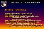 epilepsy out of the shadows22