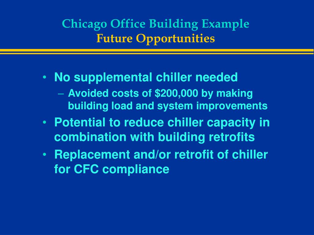 Chicago Office Building Example