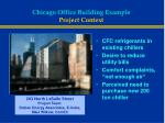 chicago office building example project context