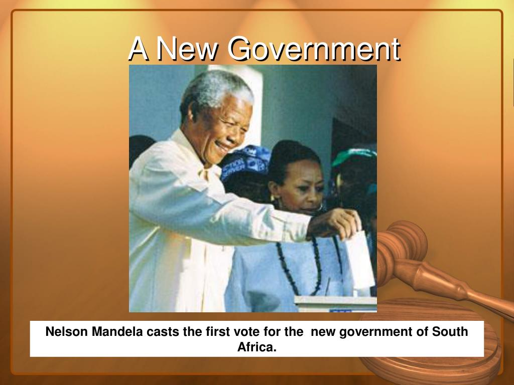 A New Government
