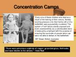 concentration camps