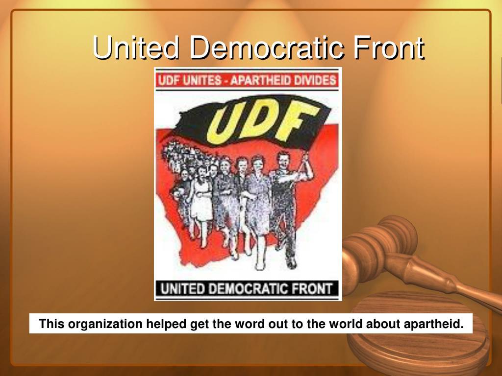 United Democratic Front