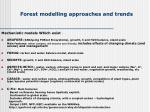 forest modelling approaches and trends4