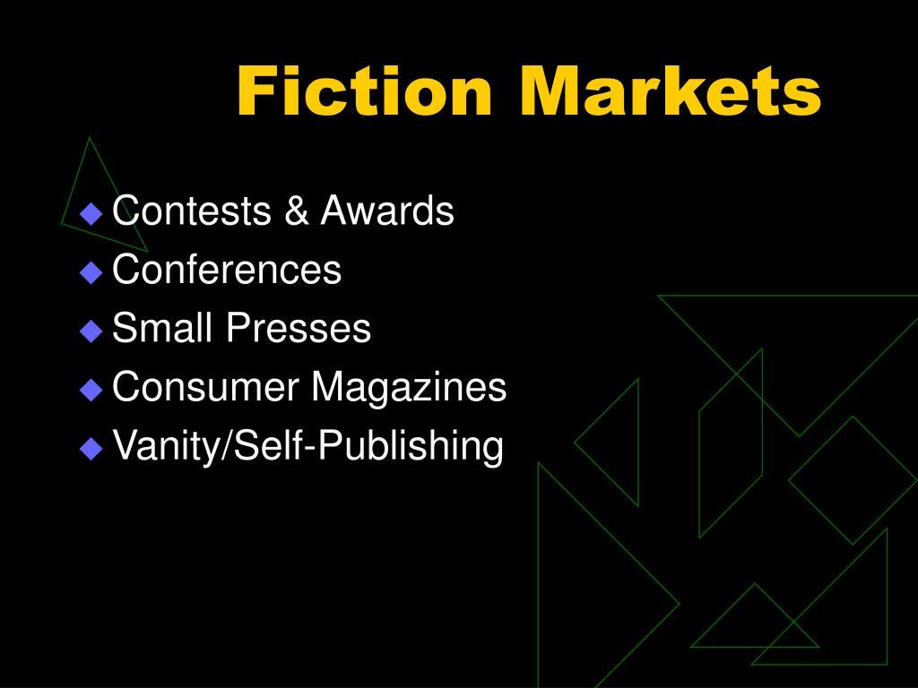 Fiction Markets