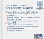 kuoni 1 year diploma travel tourism management23