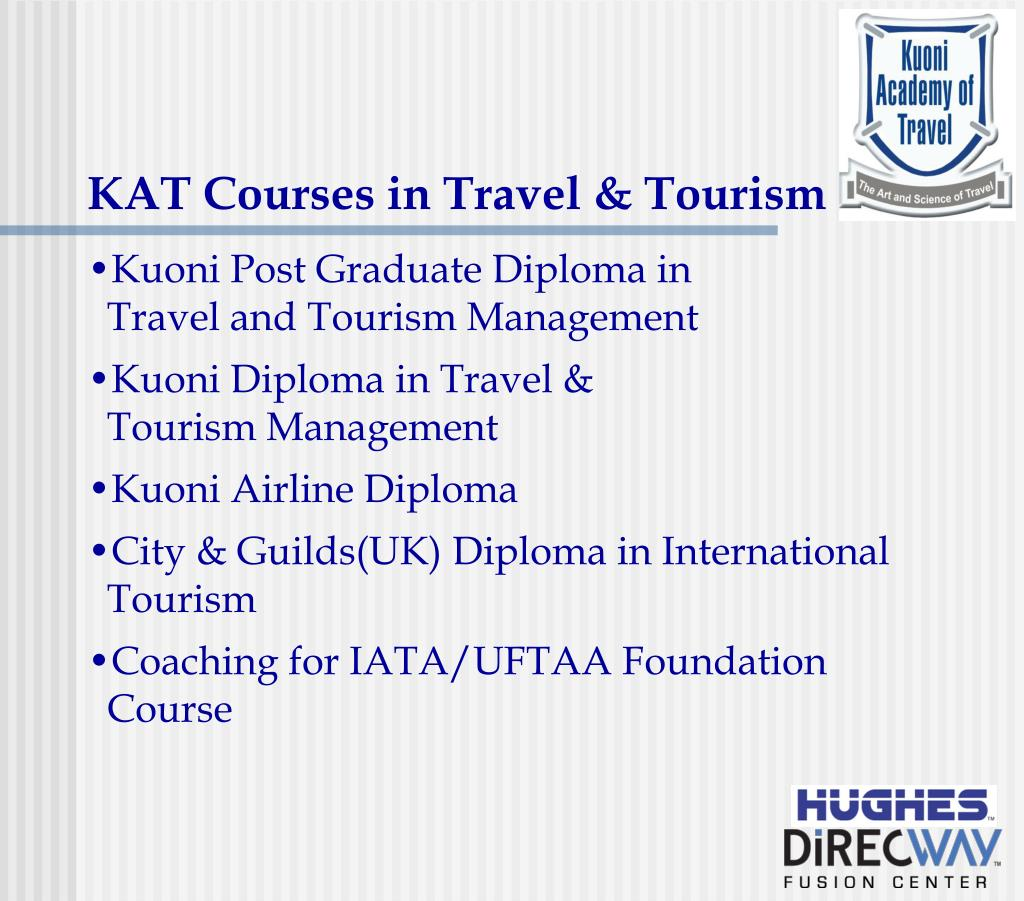 KAT Courses in Travel & Tourism