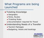 what programs are being launched