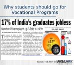 why students should go for vocational programs