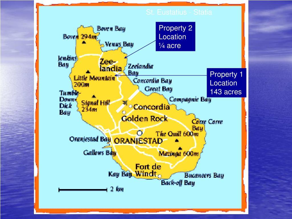St. Eustatius - Statia