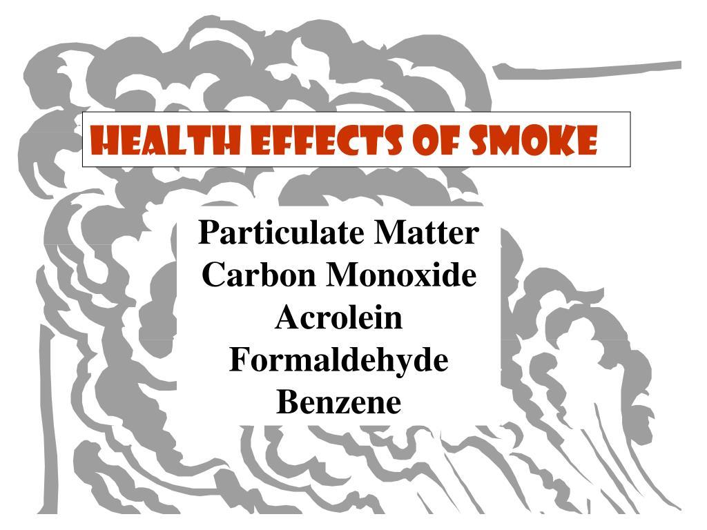 Health Effects of Smoke