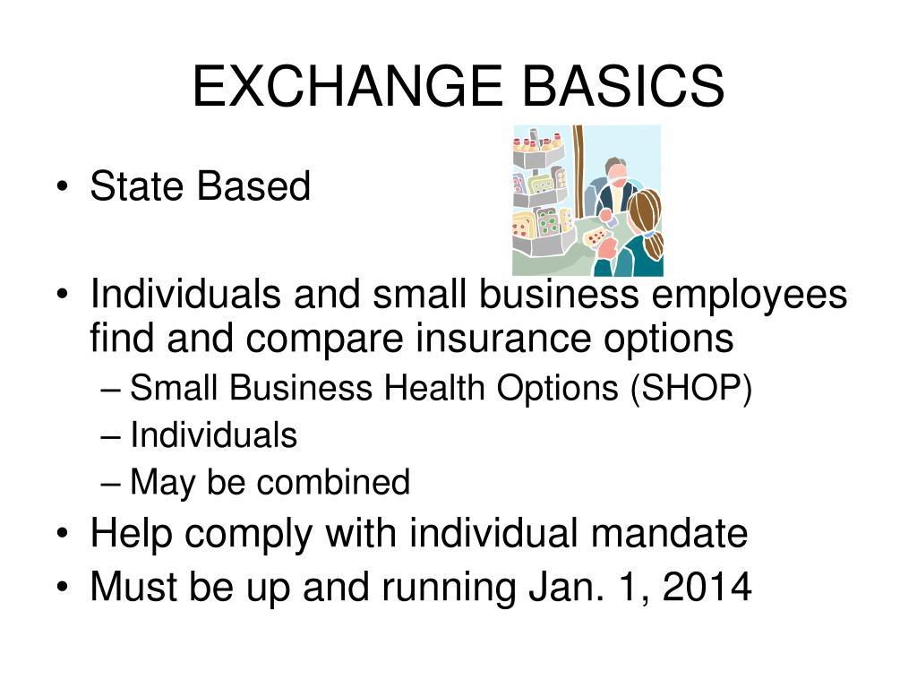 EXCHANGE BASICS