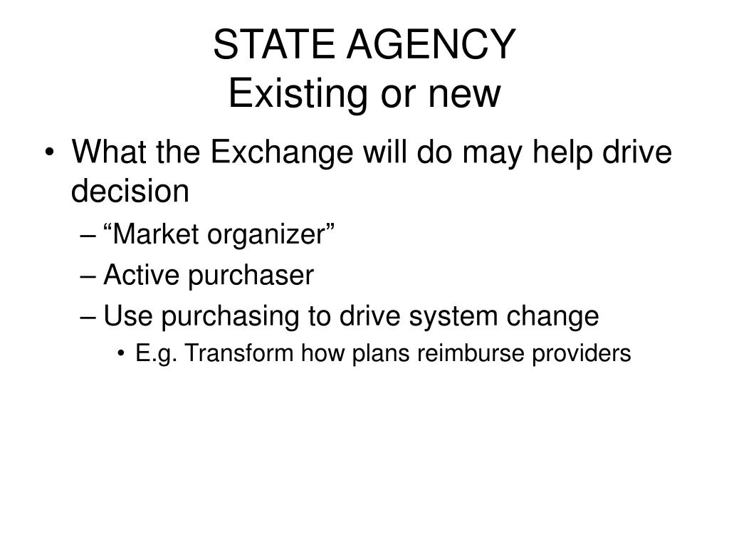 STATE AGENCY