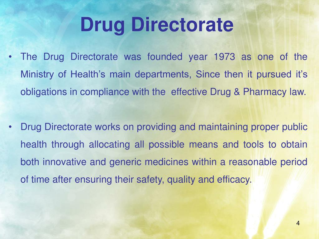 Drug Directorate