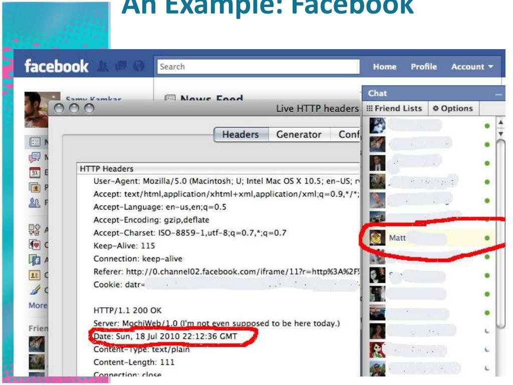 An Example: Facebook