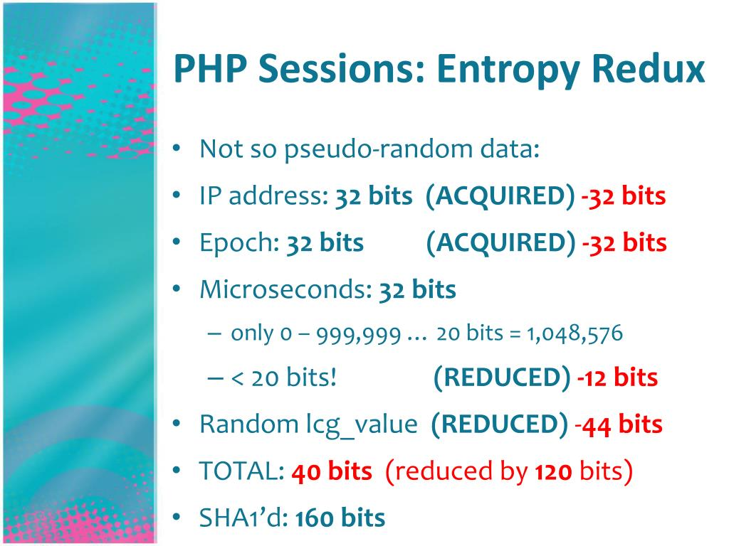 PHP Sessions: Entropy Redux