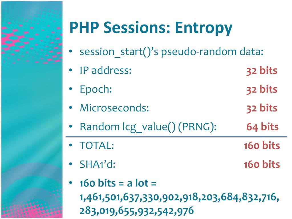 PHP Sessions: Entropy
