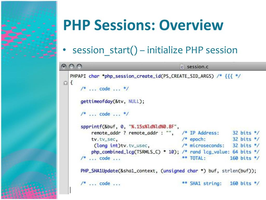 PHP Sessions: Overview