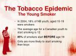 the tobacco epidemic3