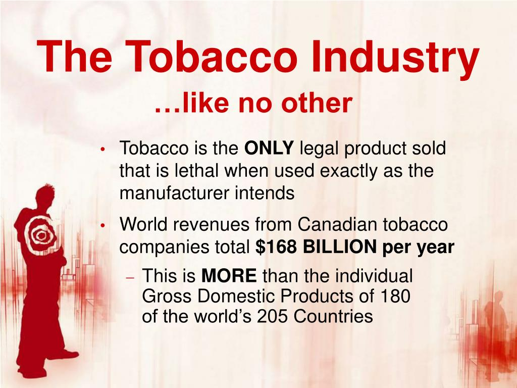 The Tobacco Industry