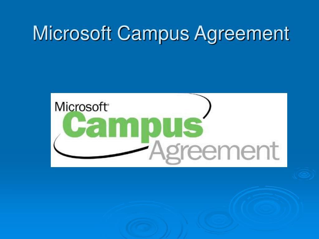 Microsoft Campus Agreement