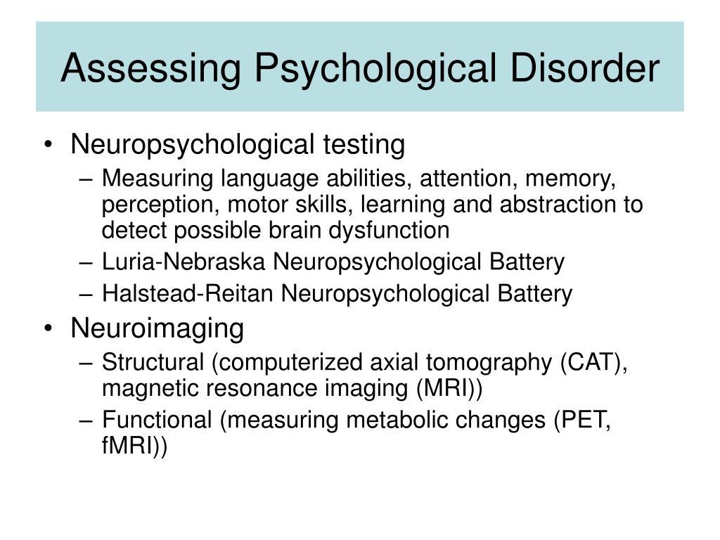 Ppt Abnormal Psychology Powerpoint Presentation Id 167768