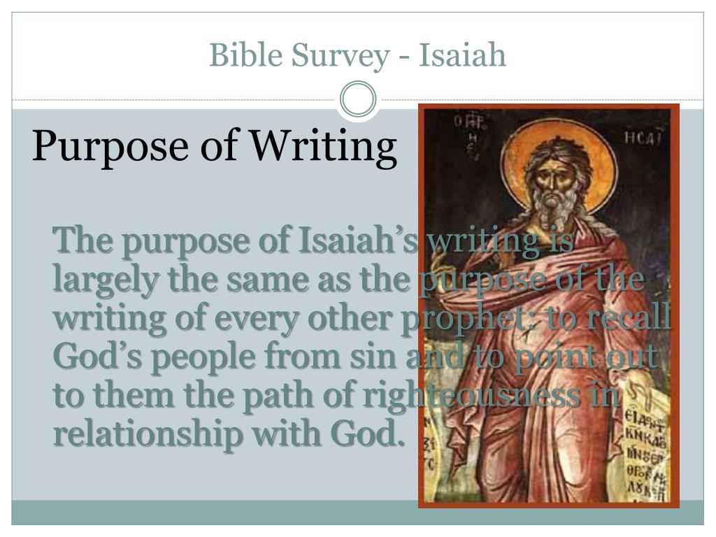 Bible Survey - Isaiah