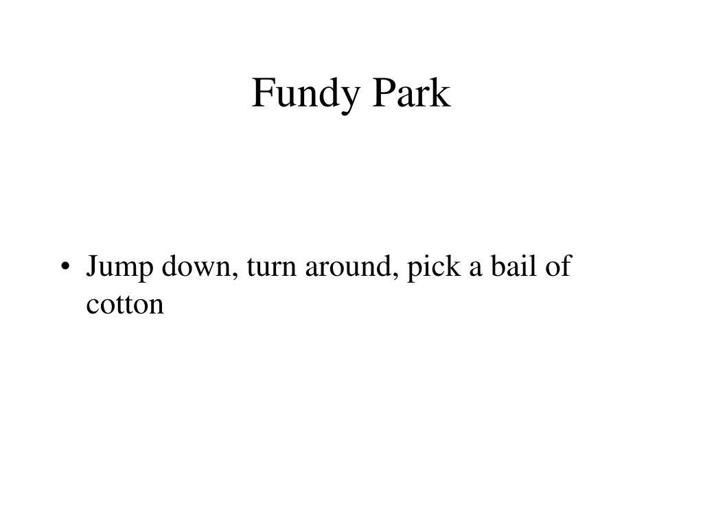 Fundy Park