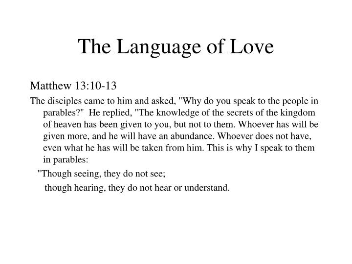 The language of love l.jpg