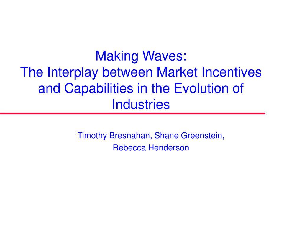 Making Waves: