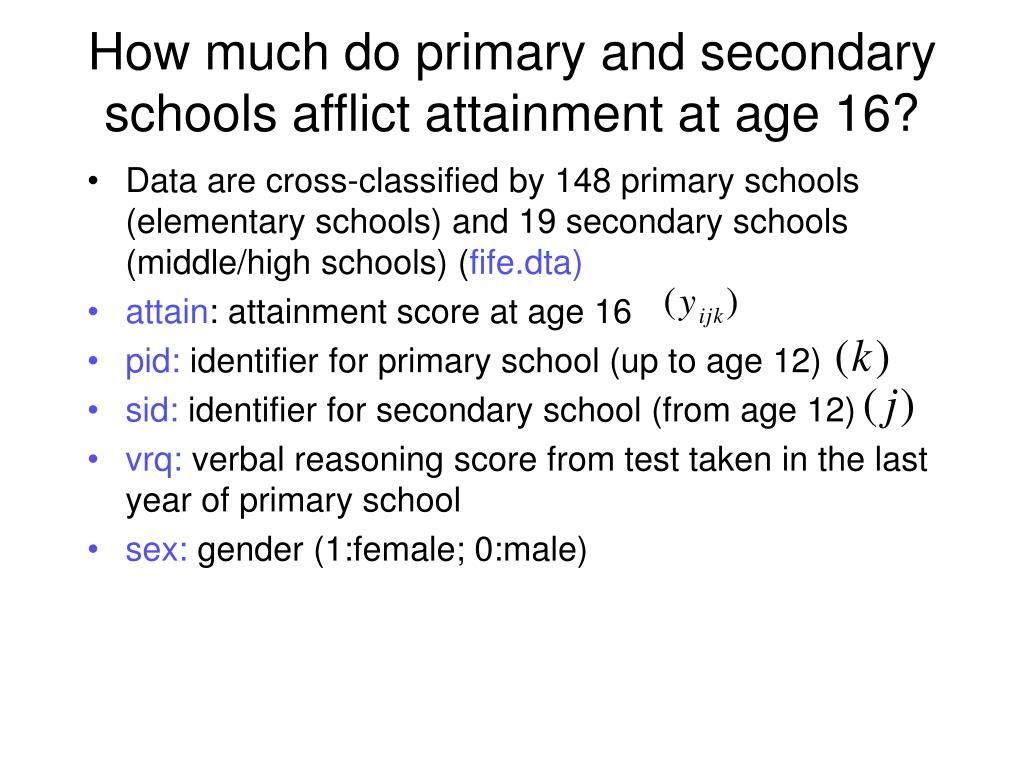 How much do primary and secondary schools afflict attainment at age 16?
