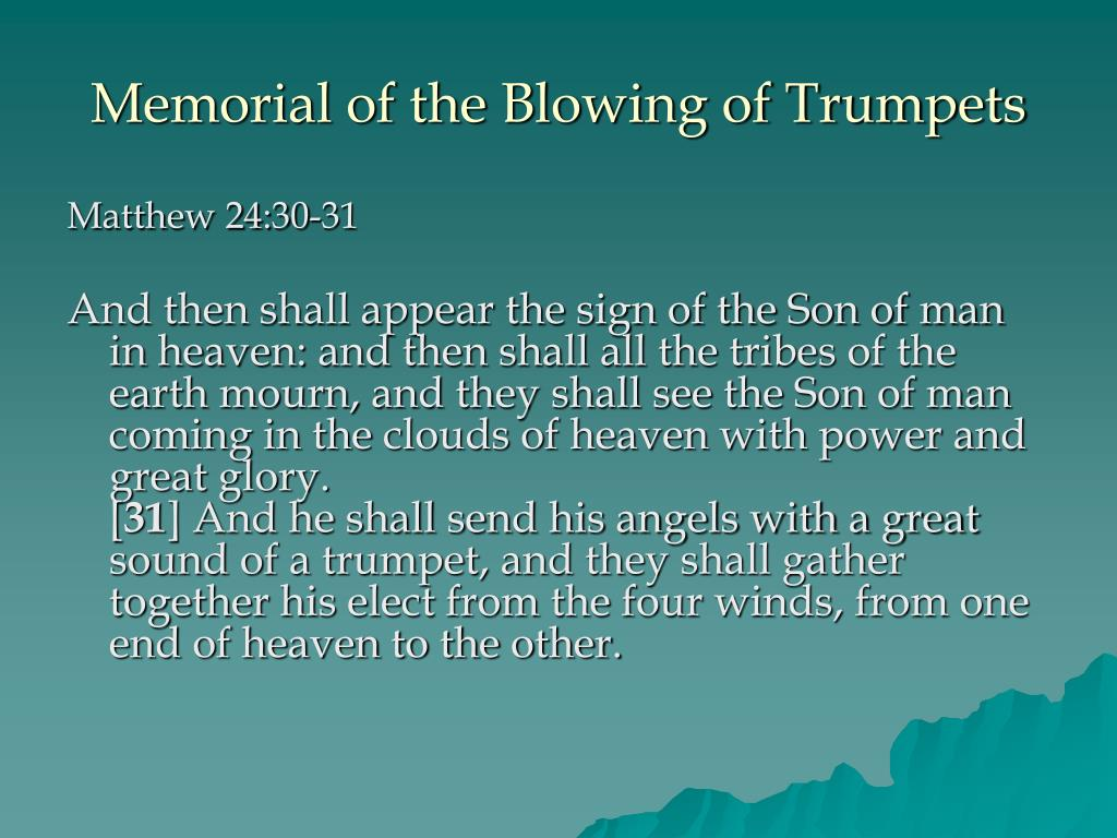 Memorial of the Blowing of Trumpets