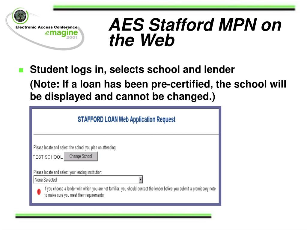 AES Stafford MPN on the Web