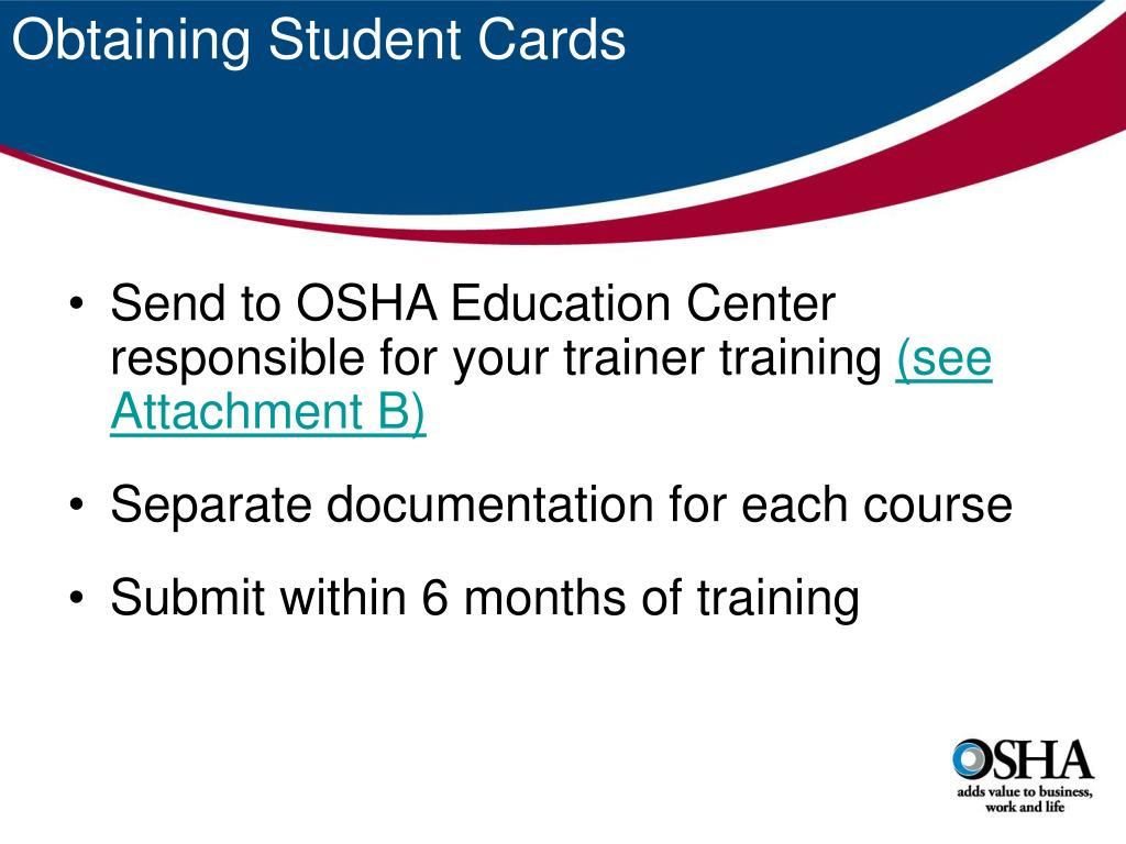 Obtaining Student Cards