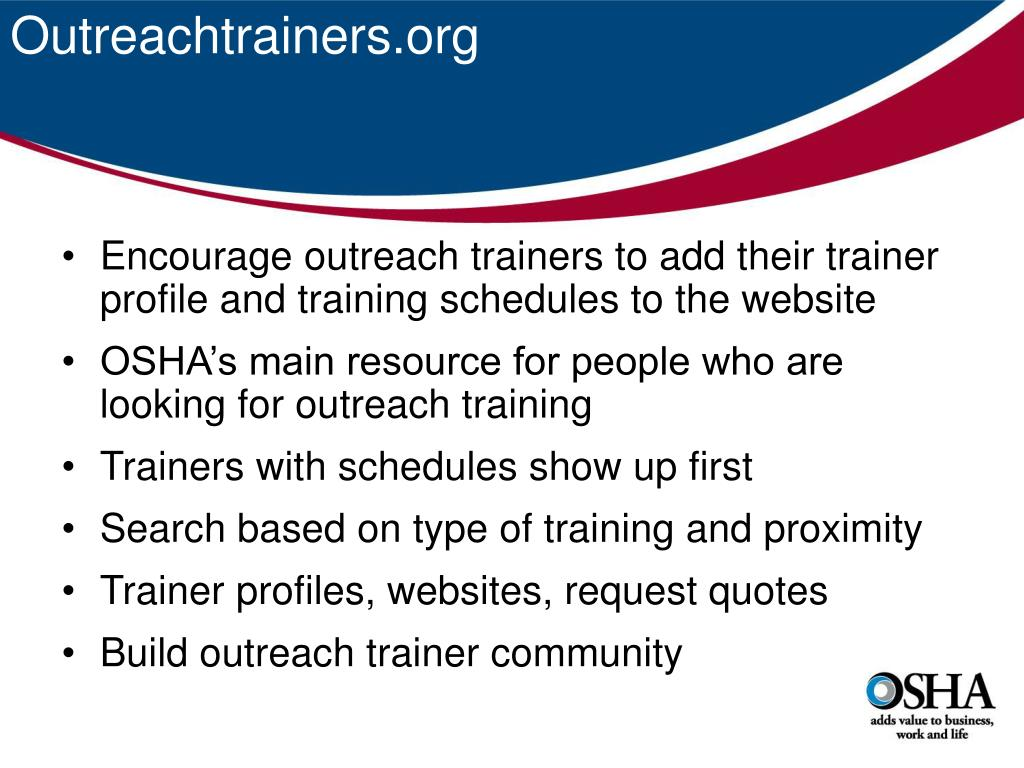 Outreachtrainers.org