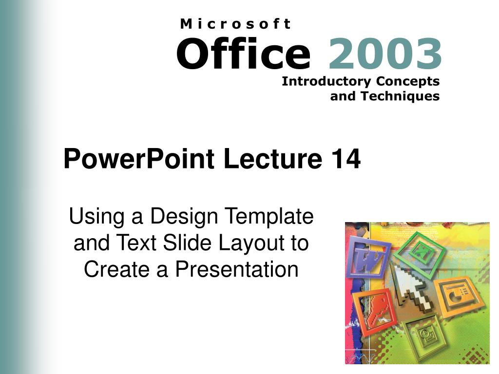 PowerPoint Lecture 14