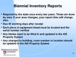 biennial inventory reports44