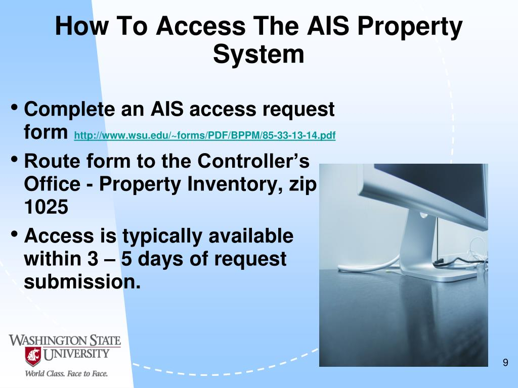 How To Access The AIS Property