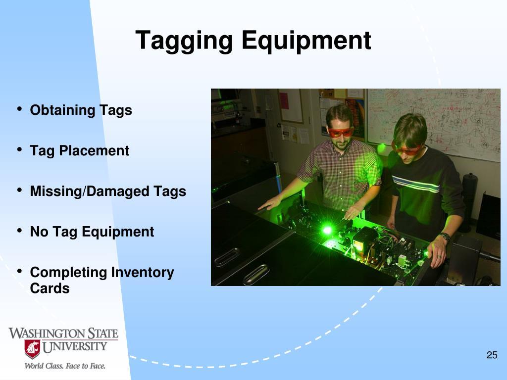 Tagging Equipment