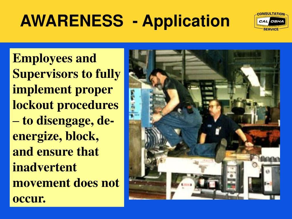 AWARENESS  - Application