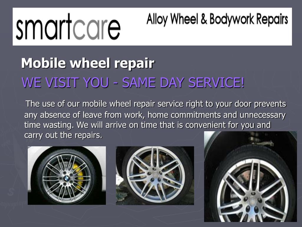 Mobile wheel repair