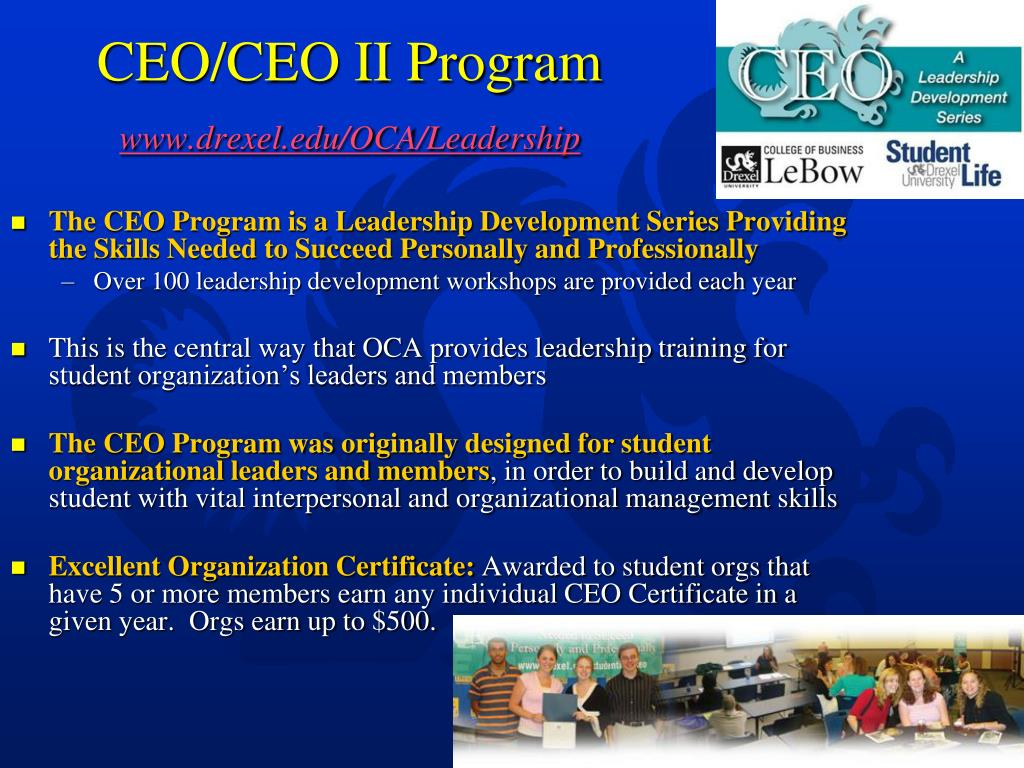 CEO/CEO II Program