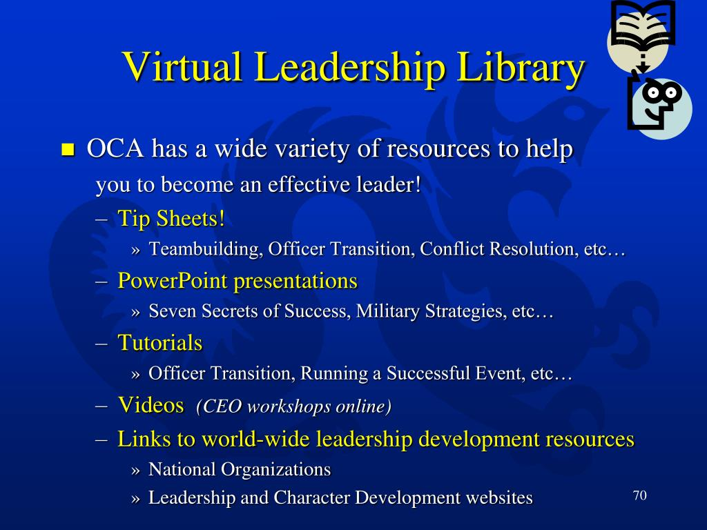 Virtual Leadership Library