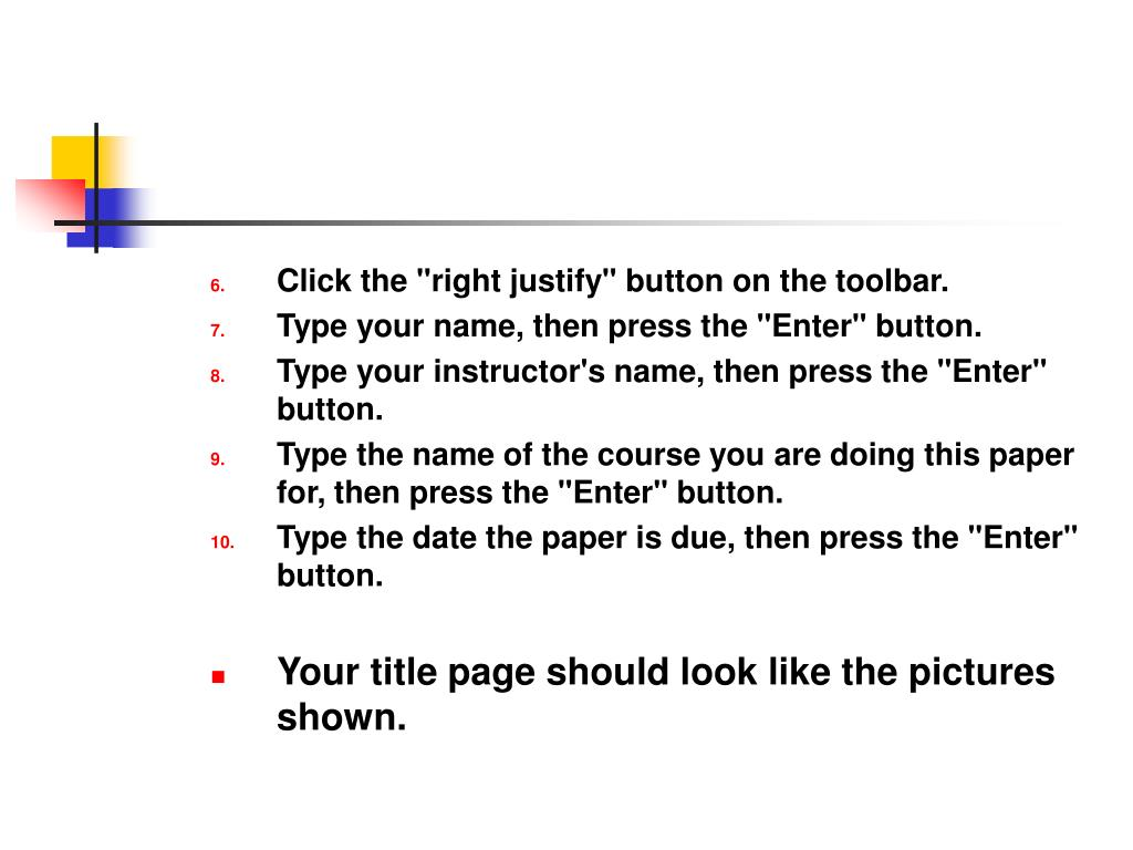 """Click the """"right justify"""" button on the toolbar."""