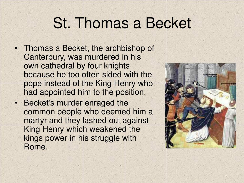 St. Thomas a Becket