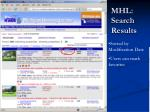 mhl search results