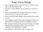 take away points1